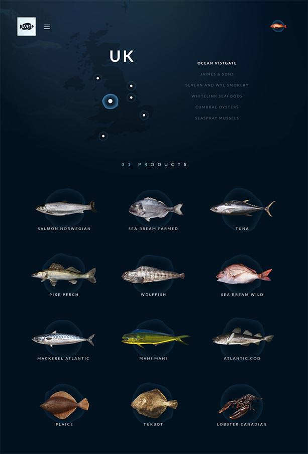 Wetfish Website