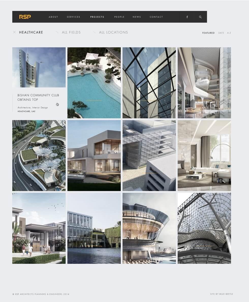 RSO Architects Website