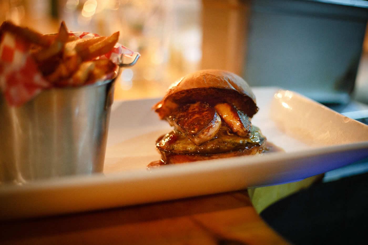 Kitchen Burger Foie Gras