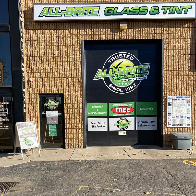 All-Brite Glass & Tint, Guelph location