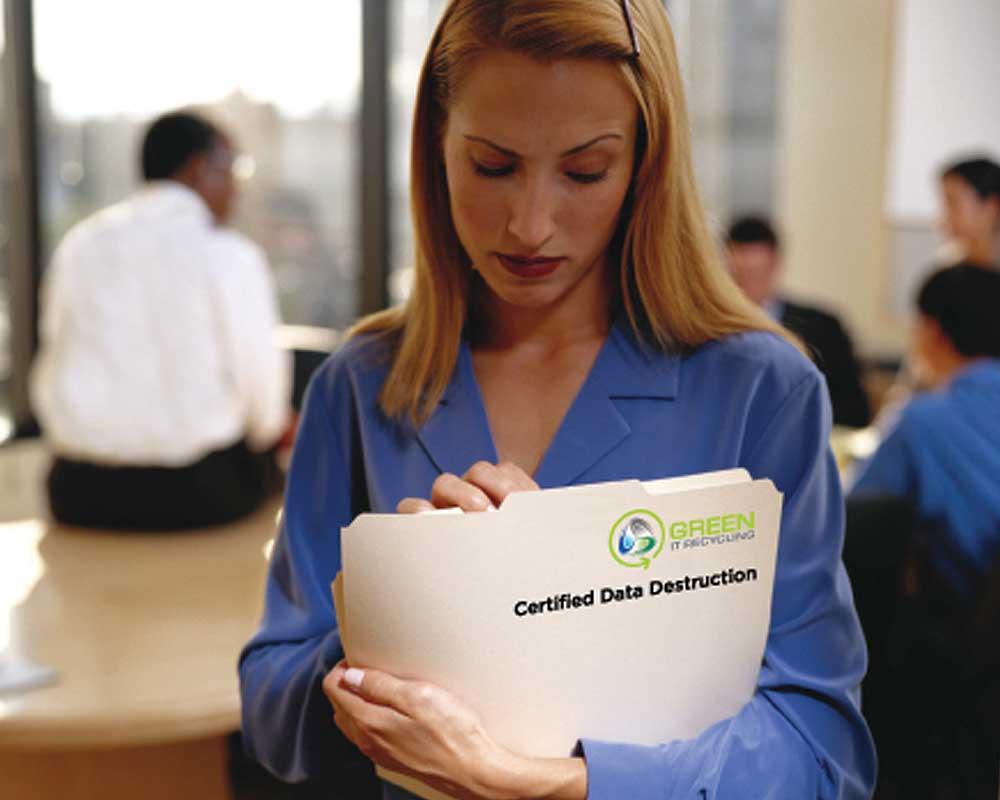 Green IT Recycling: Secure Data Destruction