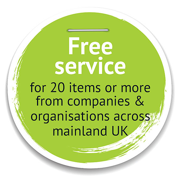Free Service for 20 items or more