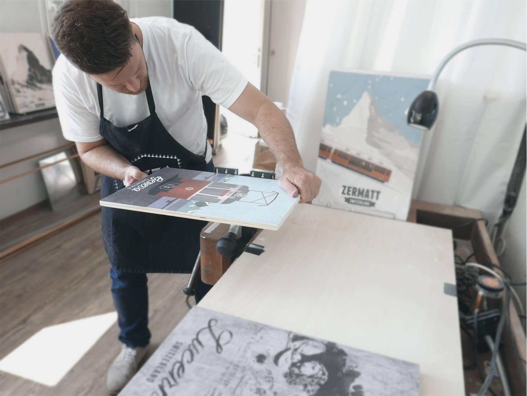 Gareth Knott Designer LEKKA Zurich