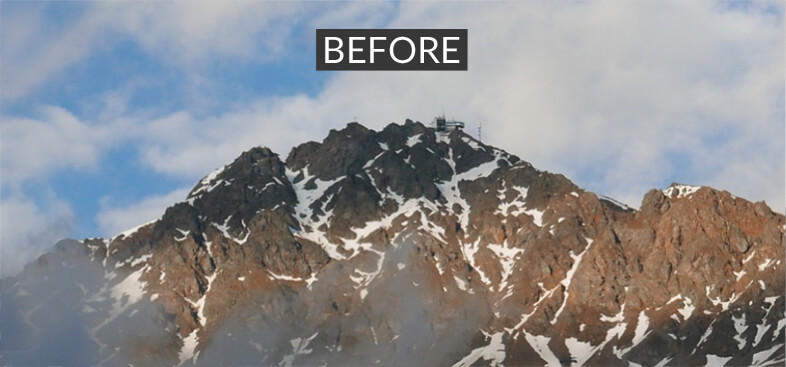 Before image treatment