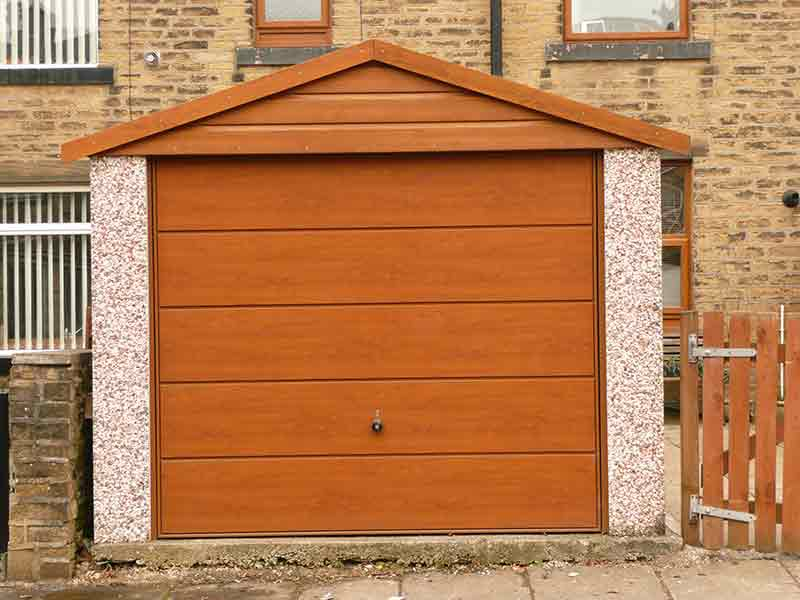 Ilkley Concrete Garage