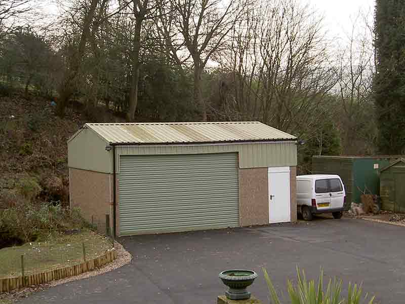No.1 for Concrete Garages in Knottingley