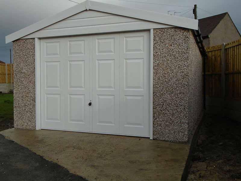 Concrete Garages