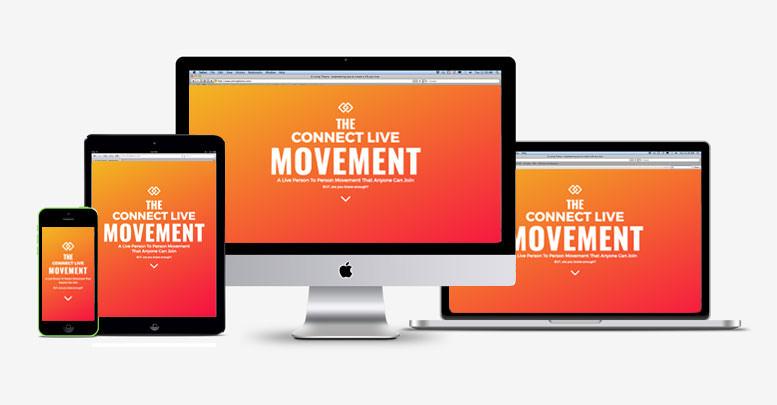 Social Movement website - responsive display