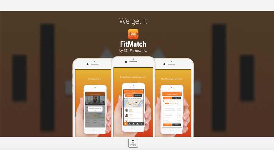 FitMatch - hero screen