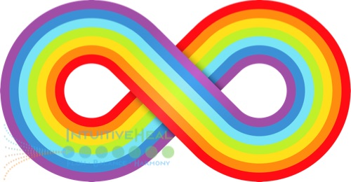 Image of colorful infinity symbol