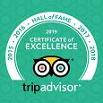 Trip Advisor Certificate 2019