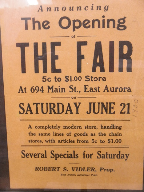 the fair opening sign 1930