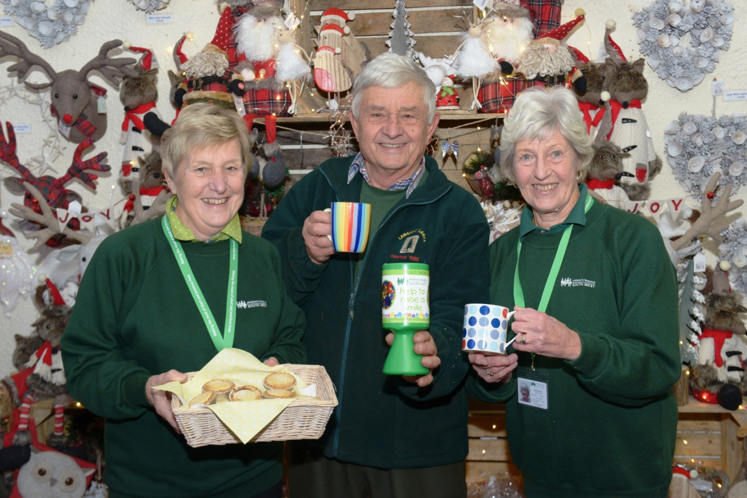 Donations raised for the Children's Hospice South West