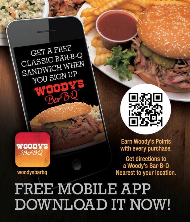 woody's app