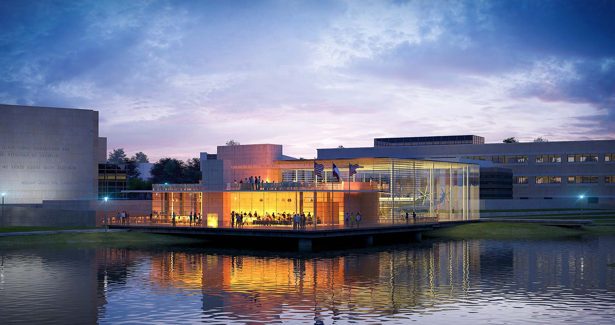 McKissack brings an informative and interactive museum design to the George H.W. Bush Presidential Library and Museum in Texas.