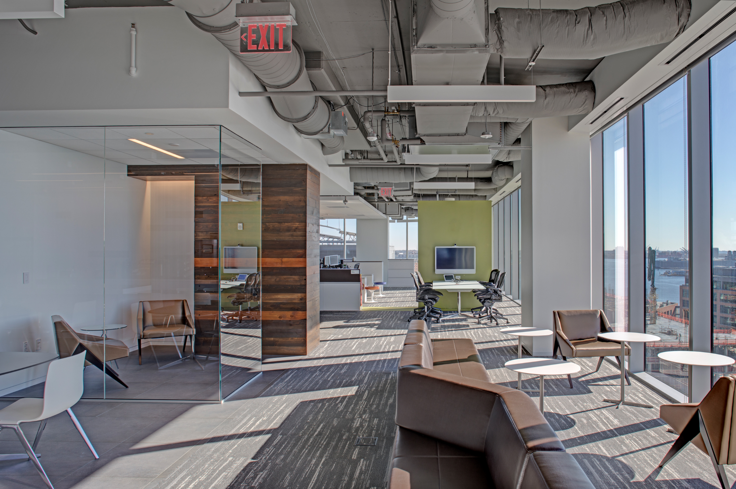 Architects and commercial interior designers can help companies do thorough COVID-19 hazard assessments and give decision-makers workable options for returning to work.