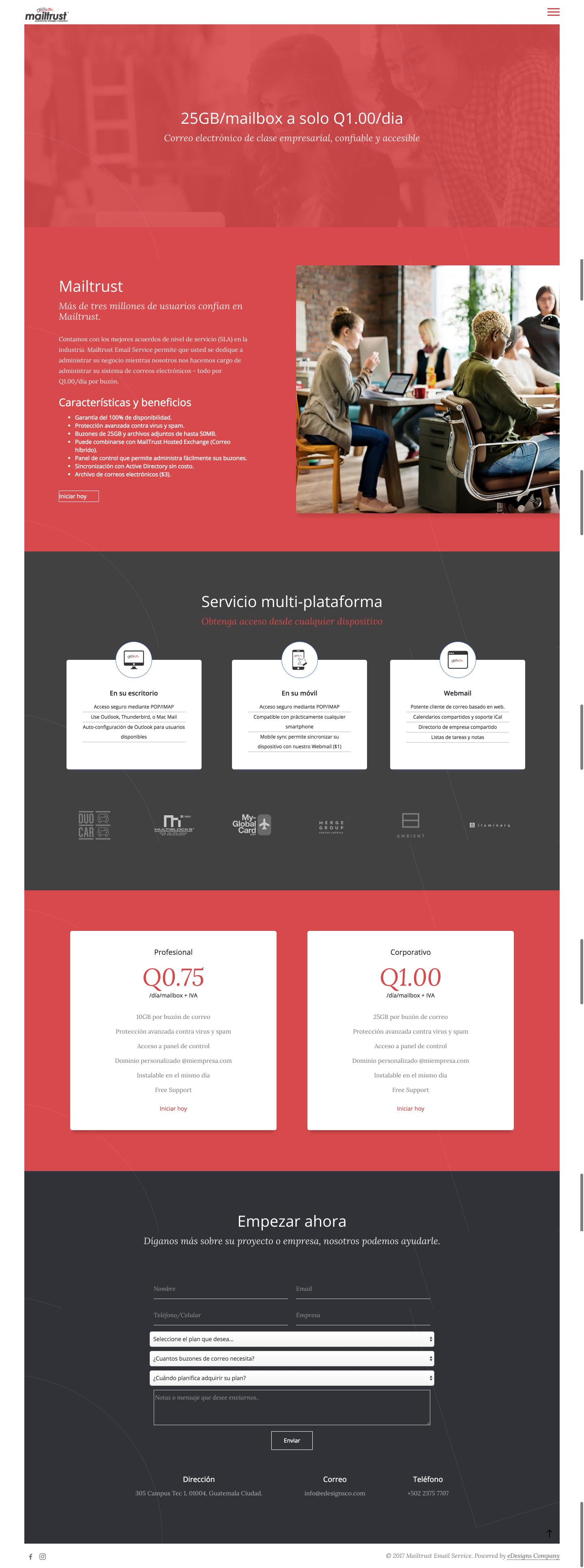 MailtrustMailService