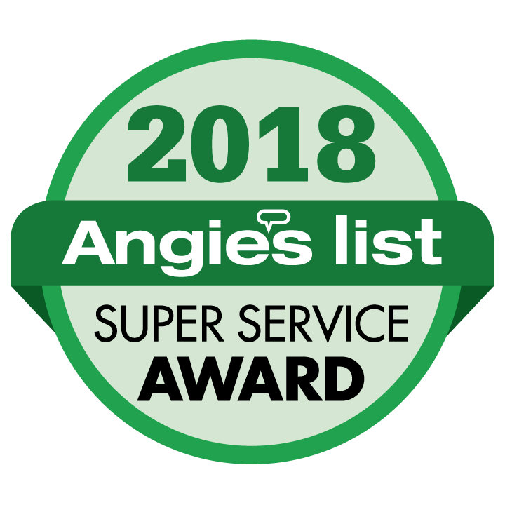 2018 Angies List Super Service Award
