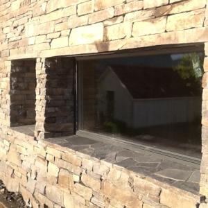 Bilde av steinvegg
