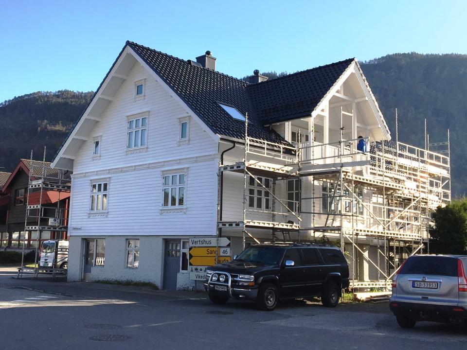 Bilde av rehabilitering av hus