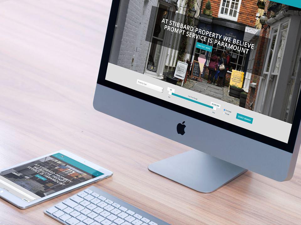 Stibbard Property website