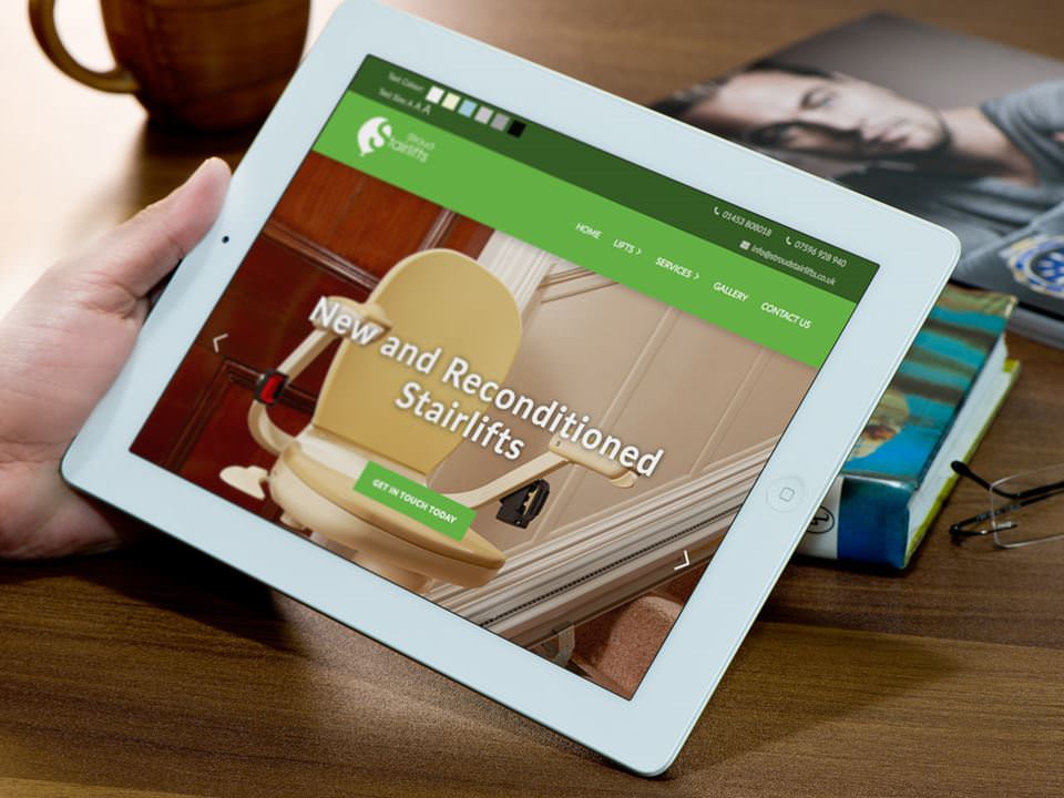 Stroud Stairlifts website