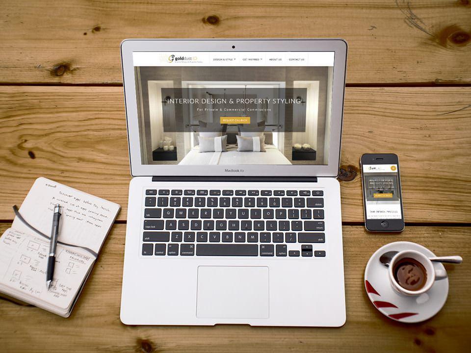 Guld Dust - Interior Design website