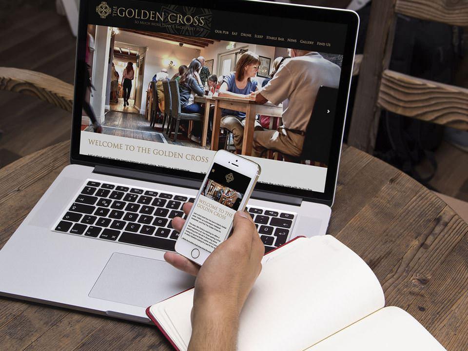 Golden Cross Inn website