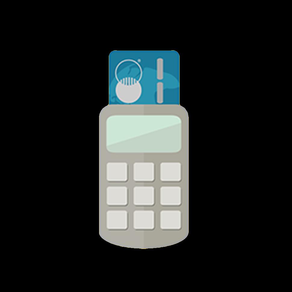 credit card machine icon