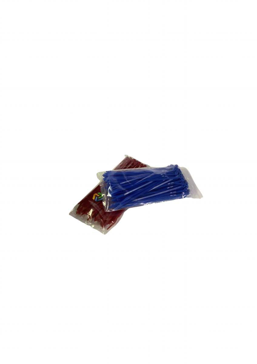 postcoded bag ties