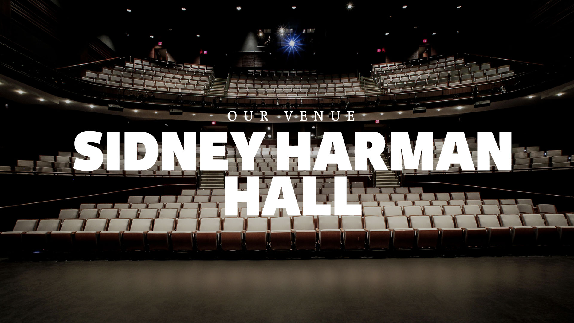 Sidney Harman Hall Theater