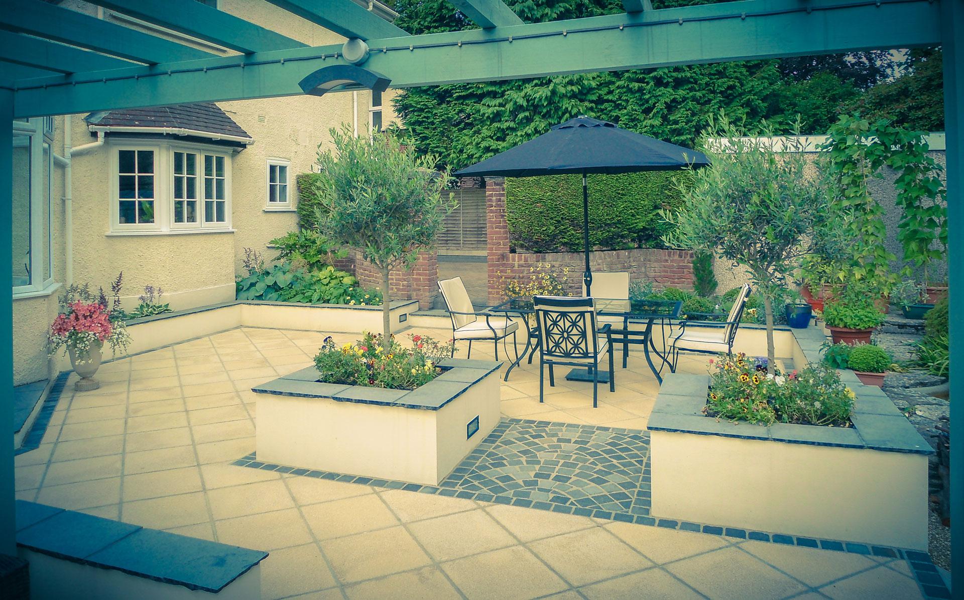 Image of Italian Garden Designed By Tom Hill