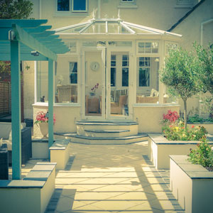 Bright Outdoor Living Image Italian Garden