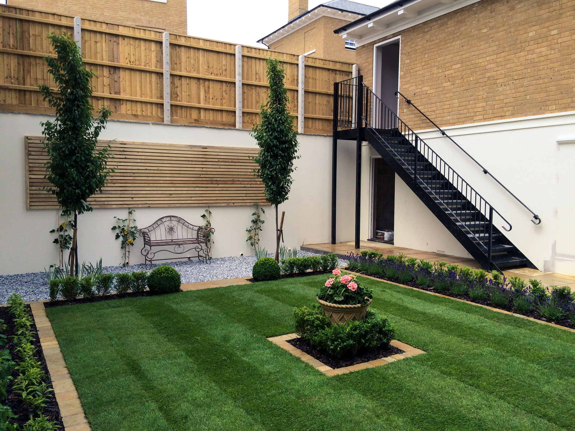 Formal Garden Low Maintenance