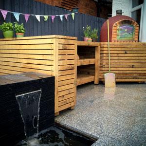 Kitchen Garden Water Feature