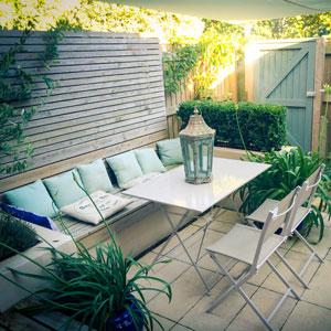 Small Modern Garden