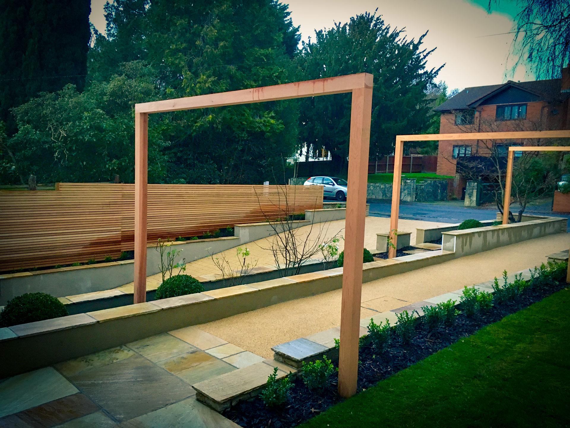 Modern front Garden custom