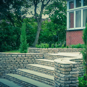 Stonework Stairs