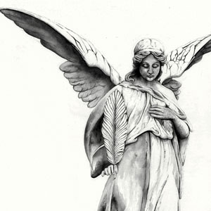 Watercolour Angel