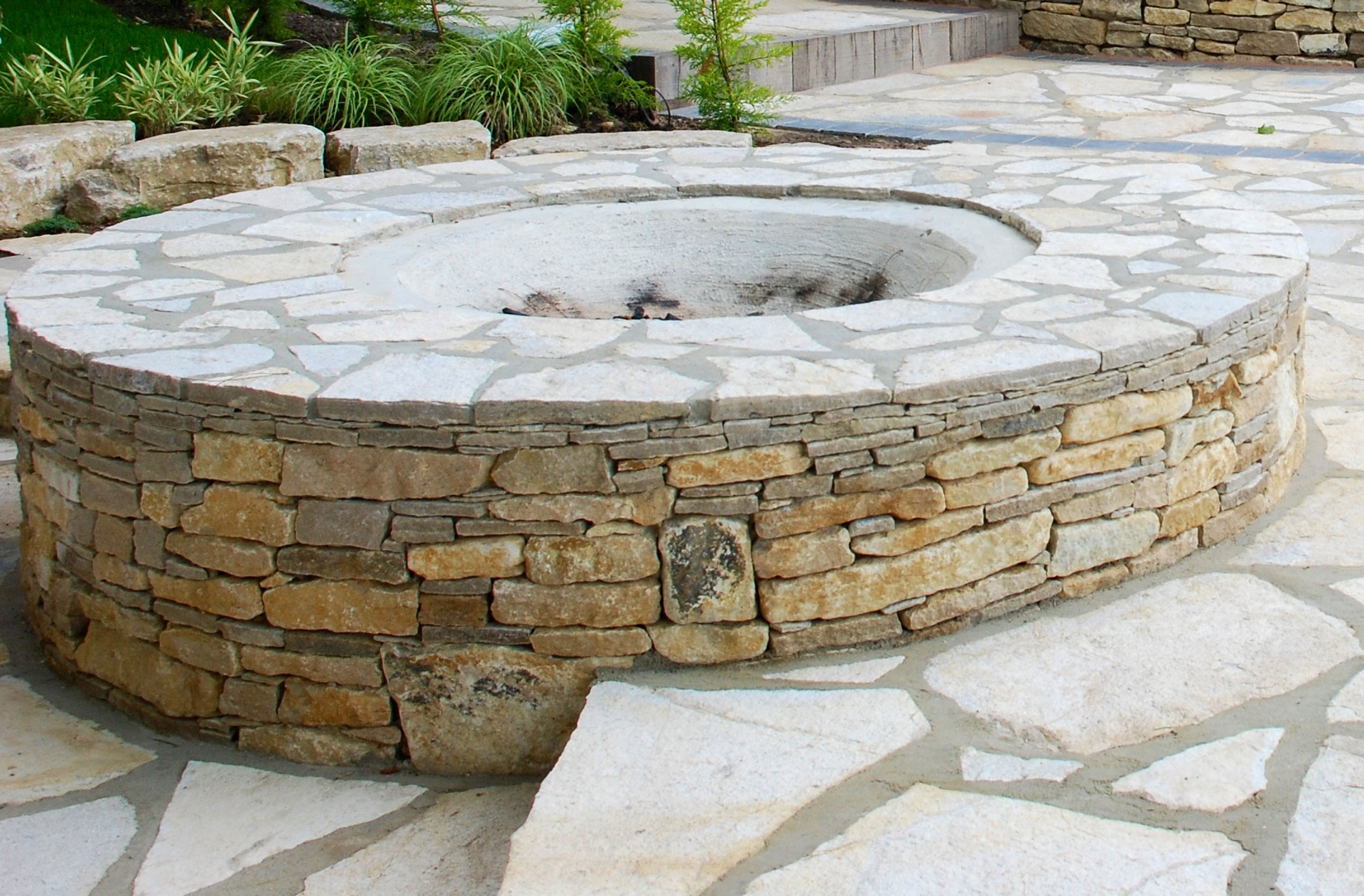 Natural Pond Fire Pit
