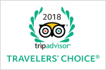 Trip Advisor 2018 Travelers Choice Winner