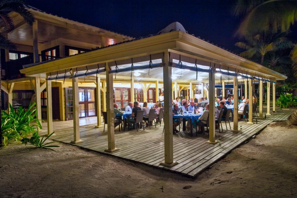 El Pescador dining pavilion