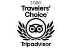 Trip Advisor 2020 Travelers Choice Winner