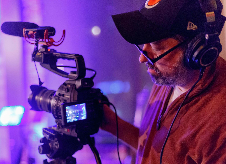 guy recording