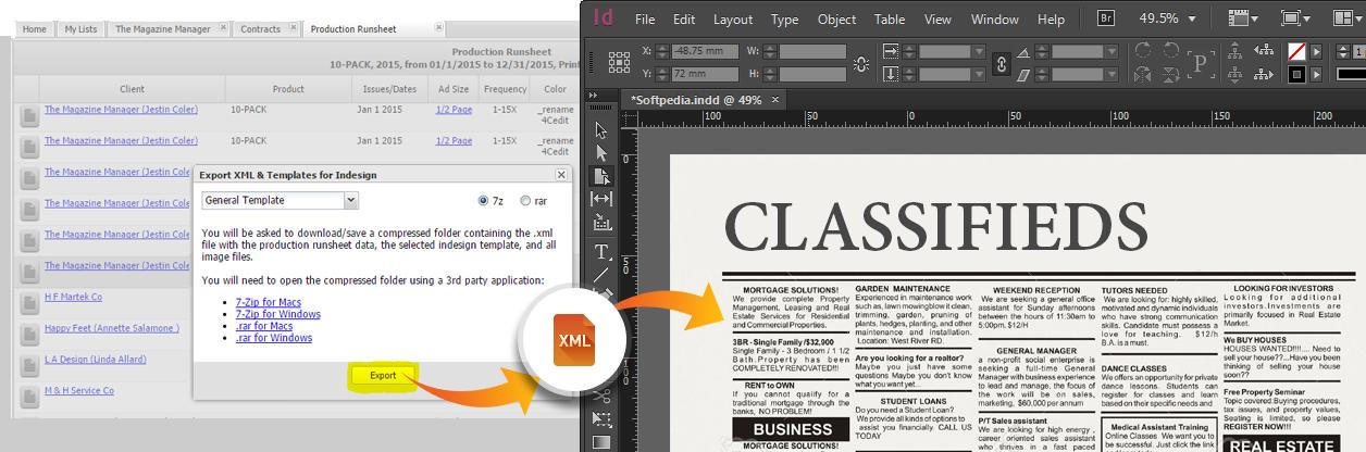 Newspaper Ad Software