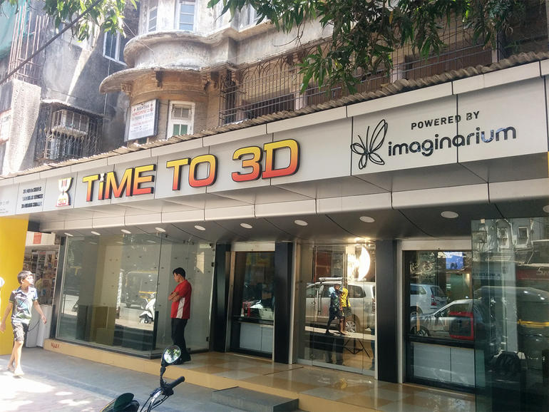 time to 3d mumbai imaginarium