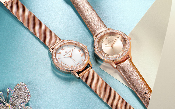 parker mesh womens watches