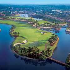 Palm course aerial
