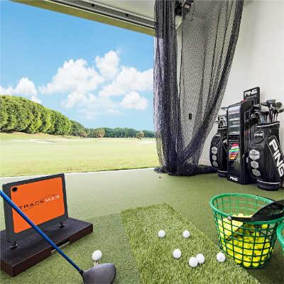Golf training center