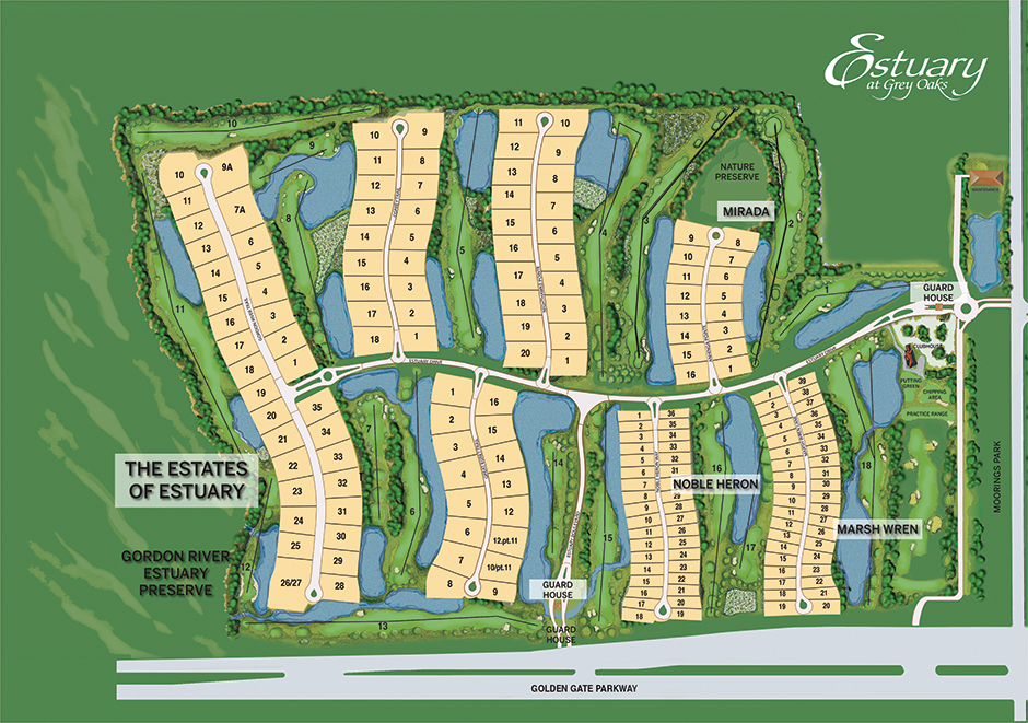 Estuary site plan